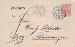 D.-Reich Firmen Karte -PERFIN...    (ka7519  ) Siehe Scan - Germany