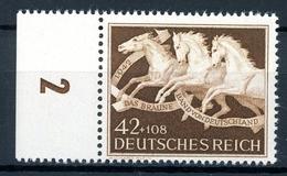 Deutsches Reich MiNr. 815 Y Bogenrand Postfrisch MNH (P2519 - Ungebraucht