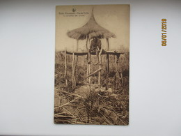 BOBO DIOULASSO HAUTE VOLTA LE SURVEILLANT DES CULTURES , BURKINA FASO , OLD  POSTCARD   , O - Burkina Faso