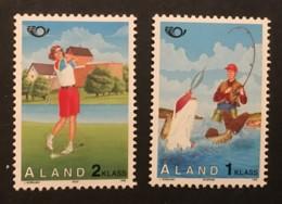ALAND  - MNH** - 1995 - # 116/117 - Aland