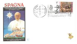 12327 - VOYAGE JEAN PAUL II - 1991-00 Lettres