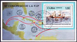 Kuba Cuba - Internationale Briefmarkenausstellung PHILEXFRANCE '82 (Mi.Nr.: Bl. 72) 1982 - Gest Used Obl - Blocchi & Foglietti
