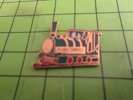 SP18 Pin's Pins : BEAU ET RARE /  TRANSPORTS : LOCOMOTIVE A VAPEUR - Transportation
