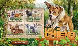 Togo 2016 Dog Chien MNH 1 Sheet - Togo (1960-...)