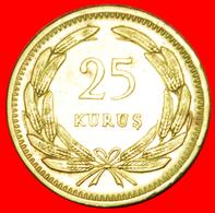 # CRESCENT AND STAR (1949-1956): TURKEY ★ 25 KURUS 1951!  LOW START ★ NO RESERVE! - Turquie