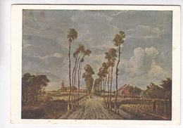 Hobbema, The Avenue, National Gallery, Unused Postcard [22653] - Paintings