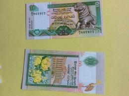 Billet Sri Lanka, Ceylan  : 10 Roupies (neuf) (807....77) - Sri Lanka