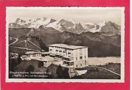 Old Post Card Of Fliegeraufnahme,Stanserhorn-Kulm,Nidwalden Switzerland ,K62. - NW Nidwalden
