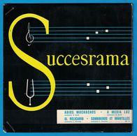 DISQUE 45 TOURS PUBLICITAIRE FROMAGERIES F. PAUL-RANARD / ADIOSS MUCHACHOS . A MEDIA LUZ . EL RELICARIO . SOMBREROS ET - Vinyl Records