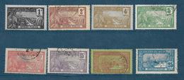 Colonie Timbre De Guadeloupe De 1905/07  N°55 A 62 Oblitérés (55 Et 57 Neufs **) - Oblitérés