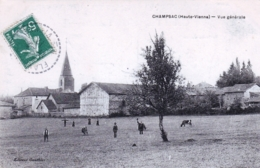 87 - Haute Vienne - CHAMPSAC - Vue Generale - Frankreich