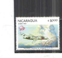 Nicaragua PA 1982 Upu Storia Aviazione Scott.C 1006+See Scan On Album Tematica Aerea; - Nicaragua