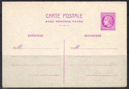 Mazelin : Entier Postal Neuf (YT 679-CPRP) Avec Réponse Payée, Cote 135,00 € - Cartes Postales Types Et TSC (avant 1995)
