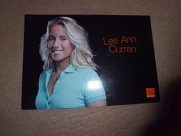 BELLE FEMME SOURIANTE .....LEE ANN CURREN ...SURFEUSE PROFESSIONELLE - Sportifs
