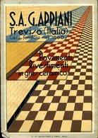 211 TREVISO , S.A. G. APPIANI PAVIMENTI RIVESTIMENTI IN GRES CERAMICO , DEPLIANT FORSE ANNI 30 - Publicidad