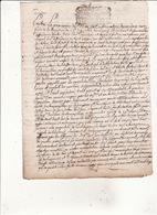 16scans68 Jugement De La Reformation Concerne Le Bois De La Barthe à Samouillan 4scans - Cachets Généralité