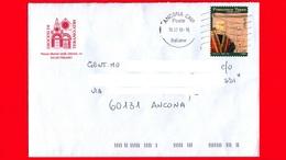 ITALIA ~ Storia Postale ~ Busta Del 2018 - (2017 - 500 Anni Della Morte Di Francesco Tasso) - Isolato - 6. 1946-.. Repubblica