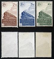 COLIS POSTAUX N° 183 à 185 Neuf N* TB Cote 21€ - Parcel Post