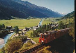 Oberwald  - 1368 M. Wallis - Trains