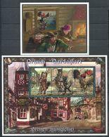 242 AZERBAIDJAN 1997 - Yvert 325/27 BF 30 - Conte De Grimm - Neuf ** (MNH) Sans Trace De Charniere - Azerbaïdjan