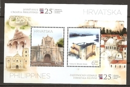 CROATIA 2018,Philippines 2018 Joint Issue 25 Years Of Diplomatic Relations,MNH - Croatie
