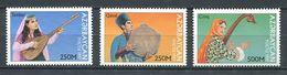 242 AZERBAIDJAN 1997 - Yvert 352/54 - Instrument Musique - Neuf ** (MNH) Sans Trace De Charniere - Azerbaïdjan