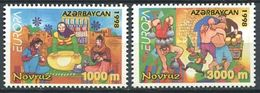 242 AZERBAIDJAN 1998 - Yvert 359/60 - Europa Fete Et Festival - Neuf ** (MNH) Sans Trace De Charniere - Azerbaïdjan