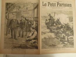 Journal Le Petit Parisien 426 4 Avril 1897 Naufrage Ville De Saint Nazaire St Martinique Paquebot Conscrit France - 1850 - 1899