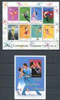 242 AZERBAIDJAN 1998 - Yvert 361/68 BF 37 - Sport JO Nagano - Neuf ** (MNH) Sans Trace De Charniere - Azerbaïdjan