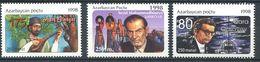 242 AZERBAIDJAN 1998 - Yvert 370/72 - Chanteur Poete Compositeur - Neuf ** (MNH) Sans Trace De Charniere - Azerbaïdjan