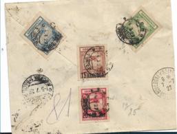 Rl255 / Russland, Luftpost-Einschreiben 1927 Nach Frankreich Ex Moskau Mit  Kompletter Ausgabe 1924 - 1923-1991 USSR