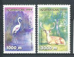 242 AZERBAIDJAN 1999 - Yvert 384/85 - Flamant Daim - Neuf ** (MNH) Sans Trace De Charniere - Azerbaïdjan