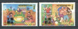 242 AZERBAIDJAN 1999 - Yvert 386/87 Logo IBRA - Europa Fete Et Festival - Neuf ** (MNH) Sans Trace De Charniere - Azerbaïdjan
