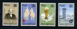 MAURITIUS 1994 Nr 777-780 Postfrisch (108046) - Mauritius (1968-...)