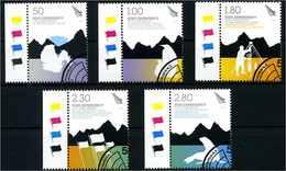 ROSS GEBIET 2009 Nr 114-118 Gestempelt (108067) - Timbres