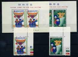 SUEDKOREA Lot Aus 1972 Postfrisch (108124) - Korea, South