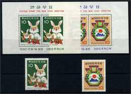 SUEDKOREA Lot Aus 1974 Postfrisch (108125) - Korea, South
