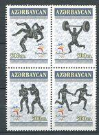 242 AZERBAIDJAN 2000 - Yvert 406/09 - Sport JO De Sydney - Neuf ** (MNH) Sans Trace De Charniere - Azerbaïdjan