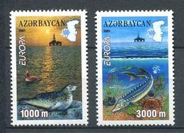 242 AZERBAIDJAN 2001 - Yvert 417 - Phoque Poisson - Neuf ** (MNH) Sans Trace De Charniere - Azerbaïdjan