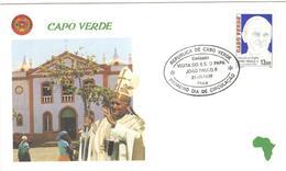 12373 - Voyage JEAN  PAUL II - Cap Vert