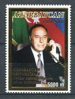 242 AZERBAIDJAN 2001 - Yvert 423 - President H A Aliyev - Neuf ** (MNH) Sans Trace De Charniere - Azerbaïdjan
