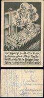 P0352 - DR Propaganda Humor Postkarte : Gebraucht SS Feldpost Brünn - Oldershausen 1941 , Bedarfserhaltung. - Allemagne