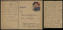 P0212 - DR Feldpost Postkarte Mit Bild Churchill , Wert Keinen Pfennig: Gebraucht FP. Nr. 18120 - Hannover 1942, Bedar - Allemagne