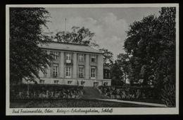 WW II DR Postkarte Krieger Erholungsheim , AK Bad Freienwalde , Oder: Ungebraucht. - Allemagne