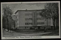WW II DR Postkarte Reserve Lazarett 101 , AK Bad Freienwalde , Oder: Ungebraucht. - Allemagne
