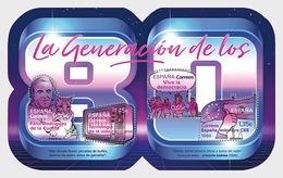 Spain 2018 - The Generation Of The 80s - Miniature Sheet Mnh - 1931-Hoy: 2ª República - ... Juan Carlos I