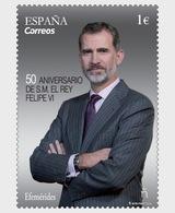Spain 2018 - 50th Anniversary S.M. King Philip VI - 1931-Hoy: 2ª República - ... Juan Carlos I