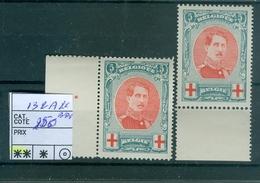 132 A XX BDF  2x  Côte 250.00€ - 1914-1915 Red Cross