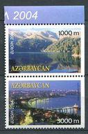 242 AZERBAIDJAN 2004 - Yvert 489a/90a - Paysage De Bakou Lac - Neuf ** (MNH) Sans Trace De Charniere - Azerbaïdjan