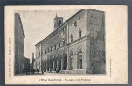 RIPATRANSONE  ASCOLI PICENO Palazzo Del Podestà NON VIAGGIATA COD.C.2073 - Ascoli Piceno